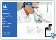 Medical - Heal - See Full Site Demo